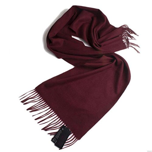 Winter man thickening European and American version of wool and cashmere scarf by KYXXLD