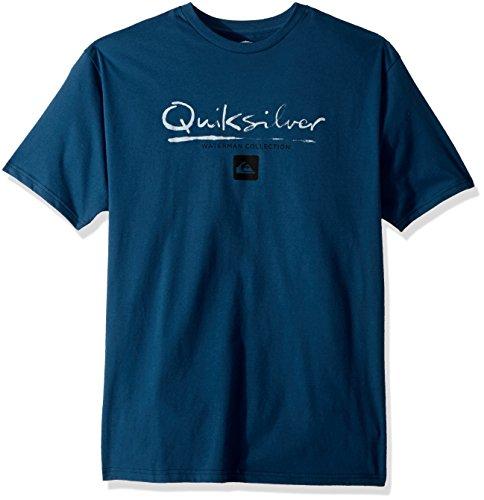 Men's Gut Check Mt0, Major Blue, L (Quiksilver Mens Surf Check)