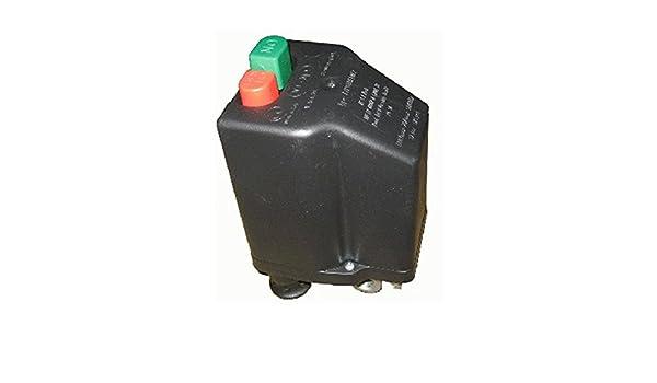Presostato Italiano marca NE-MA para Compresores Trifásico de 10 a 16 Amp - Conenxión 1/4