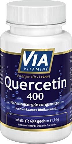 Quercetin 400 mg 60 Kapseln