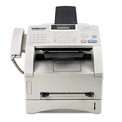 Brother FAX4100E Laser Business Fax,8MB,33.6K Modem,17-2/5quot;x17quot;x12-7/10quot;,GY