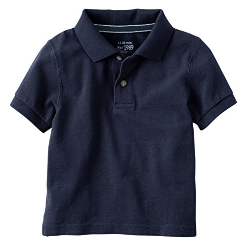 4t Polo Shirt - The Children's Place Baby Toddler Boys' Short Sleeve Uniform Polo, Nautico, 4T
