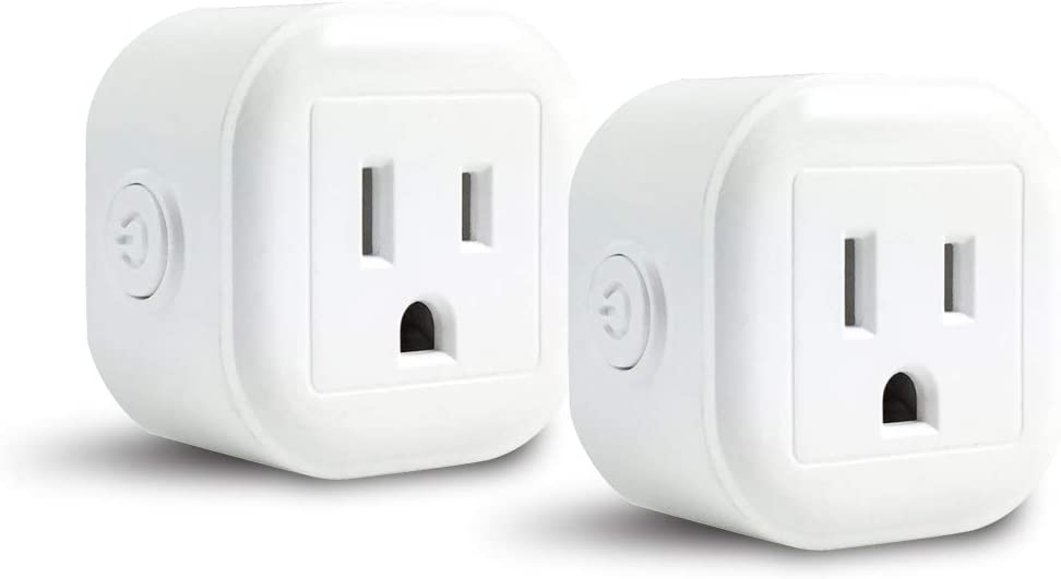 WiFi Smart Plug Mini, Astropanda Smart Home Power Control Socket, Remote Control Your Household Equipment from Everywhere, No Hub Required, Compatible with Alexa and other assitants