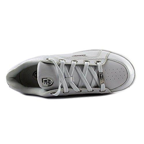 Sneakers Lexani In Pelle Tinta Unita Bianche / Bianche