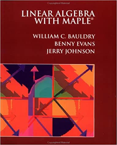 Linear Algebra with Maple
