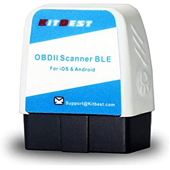 OBD2 Scanner, Bluetooth OBD Scan Tool for iOS (for iPhone iPad) & Android  Devices, Bluetooth 4 0 OBDII Car Diagnostic Check Engine Light Code Reader