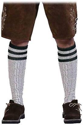 Vert Gris Blanc 35-47 Boolavard 2 Paires de Chaussettes de Costume Chaussettes Oktoberfest pour Femmes et Hommes en Marron Noir