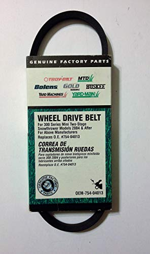 (MTD Genuine Parts Snow Thrower Drive Belt - 300 Series Compact Two-Stage)