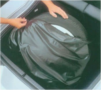 Audi TT Vinyl Wheel and Tire Storage Bag