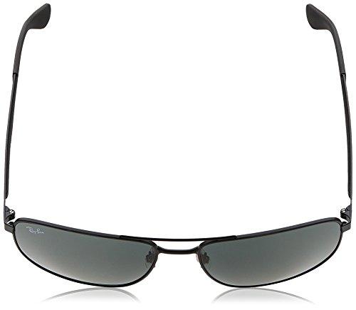 Ray-ban - Mod. 3528  - Lunettes De Soleil Homme, noir mat (matte black), taille 61