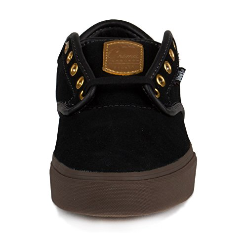 4cb0fc65a36c Vans Mens Chima Ferguson Pro Black Gum Gold Suede Size 10.5 - Import It All