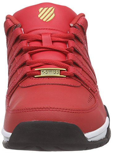 649 Basses Rot swiss Baxter K gld rbn Sneakers Homme Red wht XwtvnAq