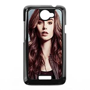 HTC One X Cell Phone Case Black Lily Collins LV7015650