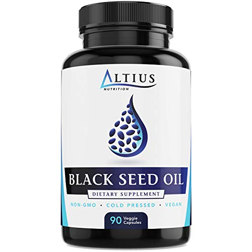 Best Black Seed Oil Capsules - Vegan, Cold Pressed, Non-GMO - Nigella Sativa Black Cumin Seed Oil - Super Antioxidant for Immune Support, Joints, Digestion, Hair & Skin - 90 Liquid Capsules