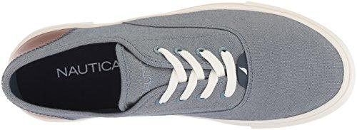 Nautica Mens Deckstyle Sneaker Blue Chambray