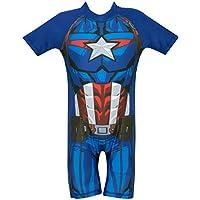 Marvel Avengers Boys' Captain America Swimsuit