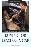 img - for Econoguide Buying or Leasing a Car (Econoguide Series) book / textbook / text book
