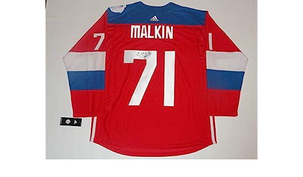 evgeni malkin team russia jersey