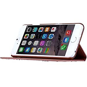 DK_Retro Style Colored Drawing PU Leather Full Body Case with Stand for iPhone 6