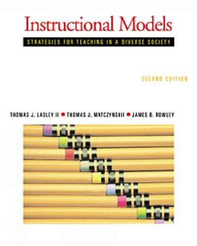 Instructional Models: Strategies for Teaching in a...