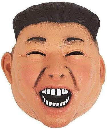 Máscara de disfraz para disfraz de Corea del Norte con texto en ...