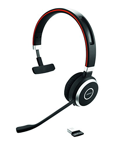 Jabra Evolve 65 Ms Mono (Mono Headset Wireless Bluetooth)