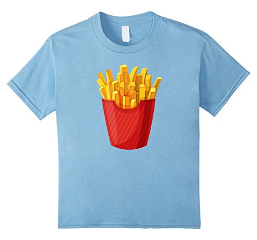 unisex-child French Fried Potatoes Snacks Cool Halloween Costume T-shirt 4 Baby (Baby French Fries Costume)
