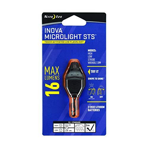 Nite Ize MLSA-M1-R7 Micro Light STS, Smoke Grey/Transparent Smoke