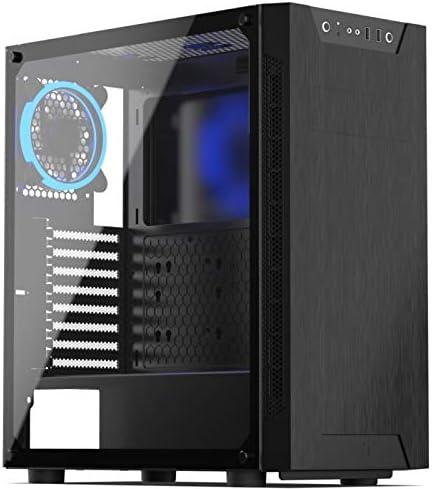 SilentiumPC Armis AR5 TG RGB Escritorio Negro - Caja de Ordenador (Escritorio, PC, Negro, ATX,EATX,Micro ATX,Mini-ITX, Ventiladores de la Caja, 16,2 cm): Amazon.es: Informática