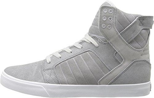 Uomo SupraSkytop Silver Alta Sneaker White PgwaXq