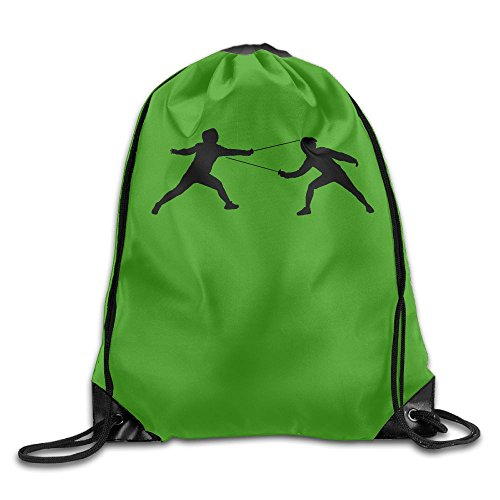 Djb568kk I Just Really Like Fencing Drawstring Bags Hiking Backpack Sport Bag For Men & Women