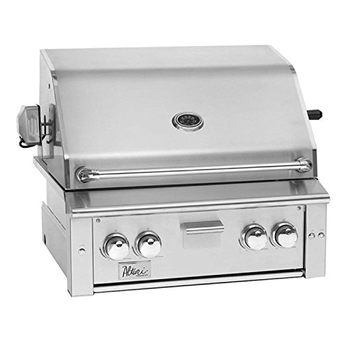 Summerset Alturi 30-inch 2-burner Built-in Natural Or Propane Gas Grill With Stainless Steel Burners & Rotisserie - ALT30-NG Or ALT30-LP - With FREE Grill Cover From Premier Grilling (Propane Gas) ()