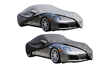XtremeCoverPro Custom Car Cover Series for Porsche 911 Coupe Targa Convertible Turbo S 991.1~991.2 2012~2018 – UV Resistant – Breathable Fabric