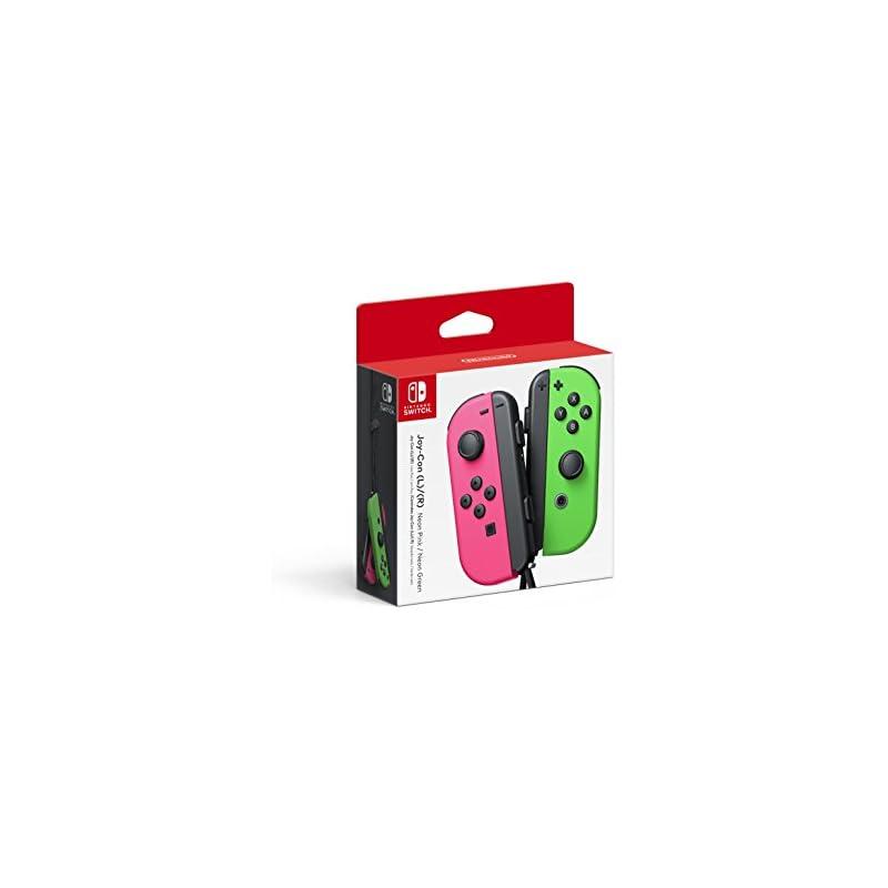 Nintendo Joy-Con (L/R) - Neon Pink / Neo