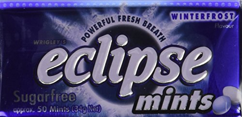 - Eclipse Sugarfree Mints 1.2 Ounce Tins (Pack of 8) (Winterfrost Mint)