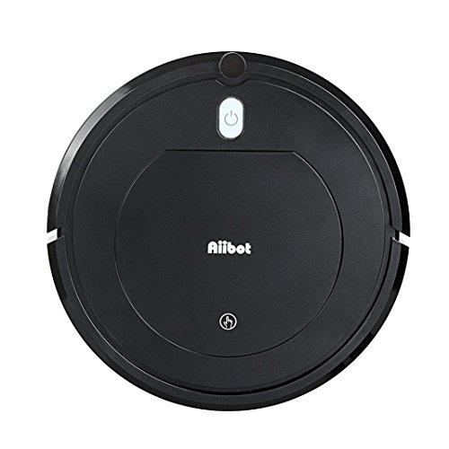 High Suction Rechargeable Smart Robot Vacuum Floor Cleaner Sweeping Suction By Dacawin (Black) by dacawin
