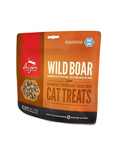 Origen - Orijen Wild Boar Gato Treats, Presentaciones - 35 Grs: Amazon.es: Productos para mascotas