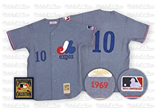 sale retailer be9c3 83b73 Montreal Expos Authentic 1969 Rusty Staub Road Jersey by ...