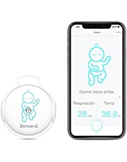 Sense-U Baby Monitor with Breathing Rollover Movement Temperature Sensors: Track Your Baby's Breathing, Rollover, Temperature