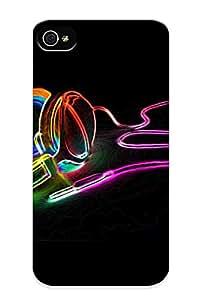 Exultantor Slim Fit Tpu Protector Lcibjk-3179-dvfkacc Shock Absorbent Bumper Case For Iphone 4/4s