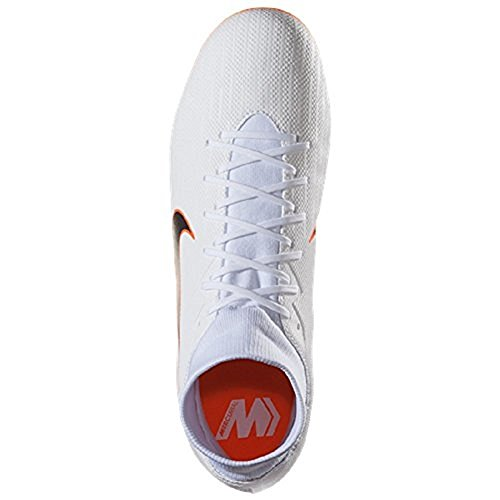 White Chrome Hombre Superfly Vi total Academy O Mercurial MG Blanco Fútbol de Nike Zapatillas 107 para BPwTqx711