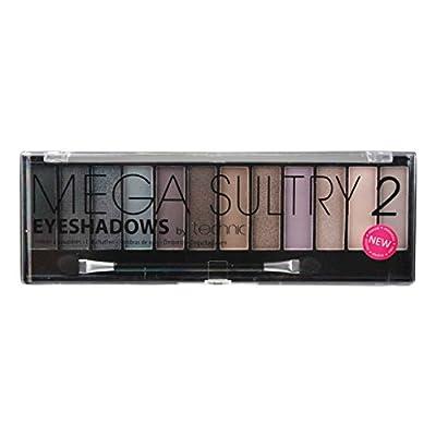 1,5 g Paleta de sombras de ojos Mega Sultry 2 de Technic con 12 tonalidades.