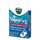 Vicks VapoPads, 6 Count – Soothing Menthol Vapor