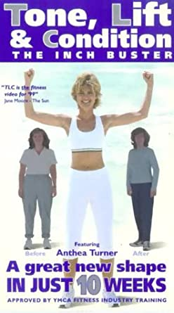 Anthea Turner - The Inch Buster - Tone, Lift And Condition