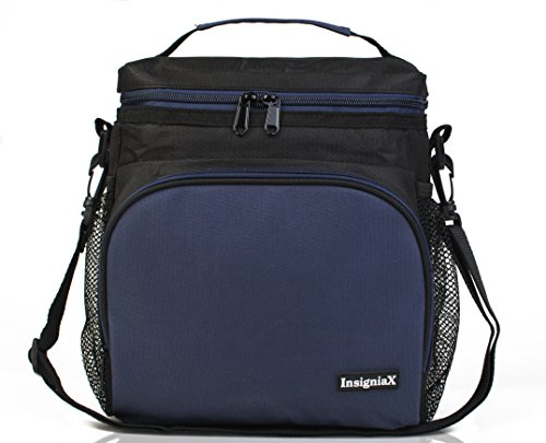 Insulated lunch bag s1 stylish lunch box office work men for Insulated office