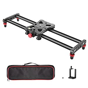 Neewer Camera Slider Carbon Fiber Dolly Rail