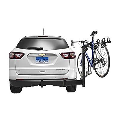 SportRack Ridge Swing 4-Bike Hitch-Mount Bike Rack, Black : Automotive
