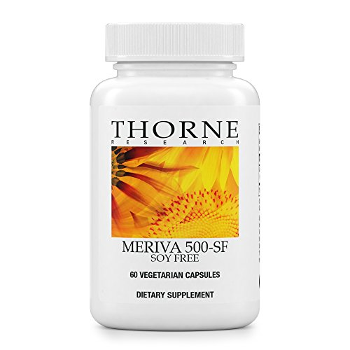 Free 60 Capsules (Thorne Research - Meriva 500-SF (Soy Free) - Curcumin Phytosome Supplement - 60 Capsules)