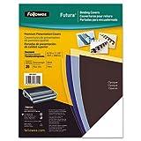 FELLOWES 5224901 Futura(TM) Presentation Covers, Letter, 25pk (Black)
