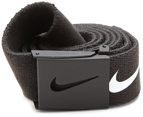 Nike Men's Tech Essential Web Belt, Black, One Size from Nike